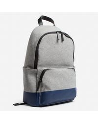 Everlane | Blue The Dipped Zip Backpack | Lyst