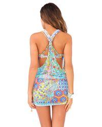 Luli Fama   Blue Tank Dress   Lyst