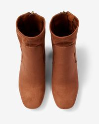 Express Brown Sock Boot