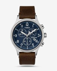 Express Timex Scout Chronograph Watch Brown for men