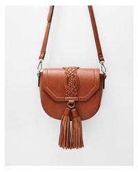 Express Moda Luxe Dhalia Crossbody Bag in Brown - Lyst d9df8d961a