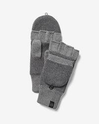 Express Flip Top Gloves Gray for men