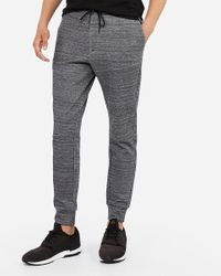 Express Space Dyed Side Zip Joggers Black Xs for men