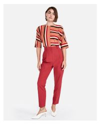 Express - Red Petite - Lyst