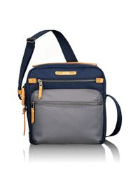 Tumi | Blue 'dalston - Amhurst' Crossbody Bag for Men | Lyst
