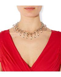 Hobbs Metallic Isabel Necklace