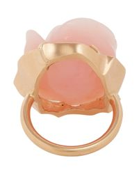 Irene Neuwirth - Metallic Gemstone Flower Ring - Lyst