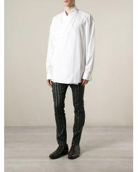 Haider Ackermann | White Kimono Shirt for Men | Lyst