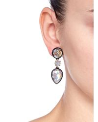 J.Crew - Multicolor Brulée Crystal Drop Earrings - Lyst