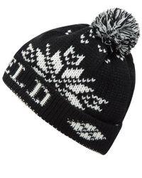 Penfield Dumont Bobble Hat in Black for men