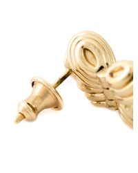 Shaun Leane   Metallic 'bound' Champagne Quartz Earrings   Lyst