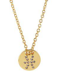 Gorjana - Metallic Astrology Shimmer Disc Necklace - Lyst