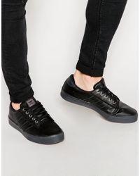 adidas Originals Kiel Canvas Sneakers D69242 in Black for Men - Lyst