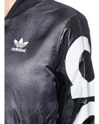 208b7cc6f Adidas Gray X Rita Ora 'mystic Moon' Cropped Track Jacket