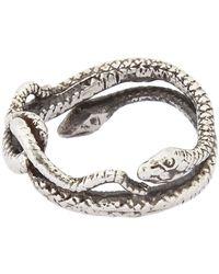 Suzannah Wainhouse Jewelry Metallic Snake Ring