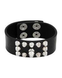 DIESEL - Black Bracelet - Lyst