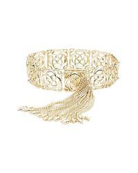 Kendra Scott | Metallic 'mystic Bazaar - Isabella' Tassel Line Bracelet | Lyst