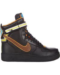 Nike | Black Mens Air Force 1 Rt High Sneakers for Men | Lyst
