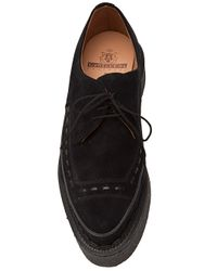 Siki Im Black Suede Creepers for men