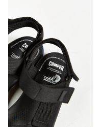 Camper Black Match Sandal for men