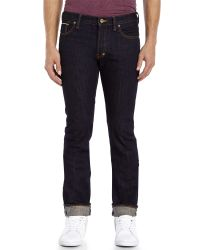 PRPS - Blue Rambler Pressed Rinse Selvedge Jeans for Men - Lyst