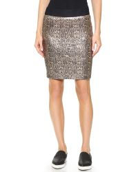 Roseanna | Metallic Berlin Python Skirt - Python | Lyst