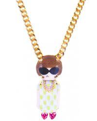 Bijoux De Famille | Multicolor Anna Chain Necklace | Lyst