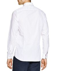 Ted Baker - White Sunbear Regular Fit Button Down Shirt - Bloomingdale's Exclusive for Men - Lyst