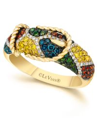 Le Vian - Metallic Mixberry™ Diamond Buckle Ring (7/8 Ct. T.W.) In 14K Gold - Lyst