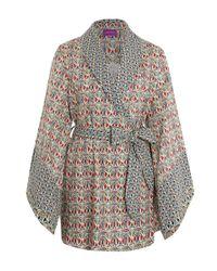 Liberty | Red Mauverina Cotton Kimono | Lyst
