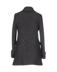Eleventy - Gray Coat - Lyst