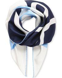 Loewe | Blue Giant Anagram Scarf | Lyst