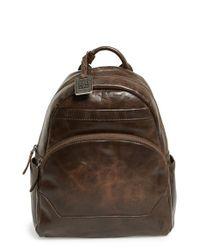 Frye Brown 'melissa' Backpack