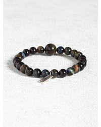 John Varvatos | Blue Tigers Eye Limited Edition Bracelet for Men | Lyst
