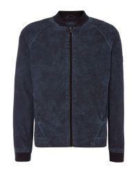 Calvin Klein - Blue Onomo 2 Bomber Jacket for Men - Lyst