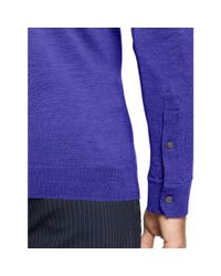 Ralph Lauren | Purple Tailored-fit Stretch-mesh Polo for Men | Lyst