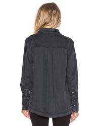 Free People | Black Under Your Spell Blouse | Lyst