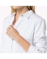 Tommy Hilfiger White Samuela Poplin Shirt