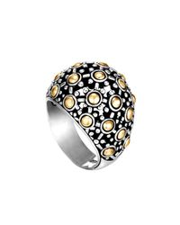 John Hardy | Metallic Jaisalmer Dot Dome Ring | Lyst