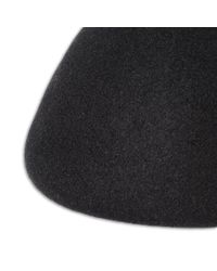 Stella McCartney - Black Wool Beret - Lyst