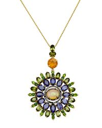 Sharon Khazzam | Multicolor One Of A Kind Veronica Necklace | Lyst