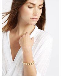 BaubleBar | Metallic Pearl Box Bracelet | Lyst