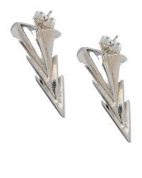 First People First - Metallic Earrings - Lyst