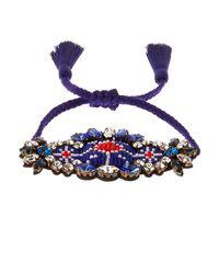 Shourouk | Blue Bora Amerindien Bracelet | Lyst