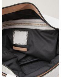 Reed Krakoff White Seamless Hobo Bag