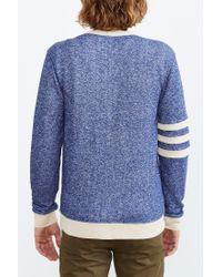 BDG - Blue Varsity Cardigan for Men - Lyst
