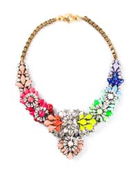 Shourouk - Multicolor Apolonia Necklace - Lyst