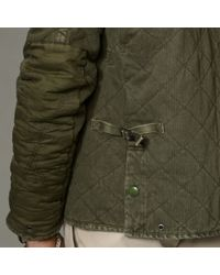 Polo Ralph Lauren - Green Quilted Jersey Utility Jacket for Men - Lyst