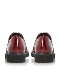 Dune | Purple Filipo Chunky Sole Lace Up Derby Shoe | Lyst