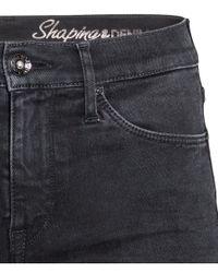 H&M Black Shaping Skinny Regular Jeans